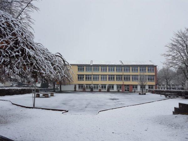 Standort Beverungen mit Schnee